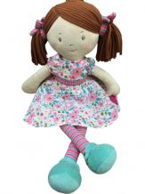 Personalised Rag Doll Fran Suitable from birth